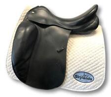 "Used Prestige 2000 Dressage Saddle - Black - 17"""