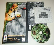 Immercenary (3DO, 1995) COMPLETE GAME for your Panasonic 3DO system LONGBOX