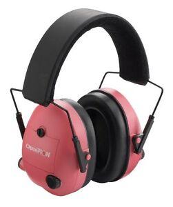 NEW Champion Pink Electronic Ear Muffs FREE SHIPPING