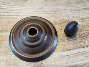 Hampton Bay Ceiling Fan parts - end cap finial nut glass bowl light cover READ