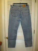 Vtg Levi's 505 Denim Jeans Size 38X31 Faded Vintage USA Made Levis