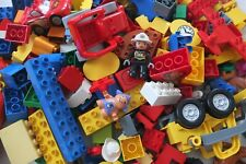 Lego Duplo gereinigt 1 kg Starter Paket Set Steine Auto Tiere Figuren