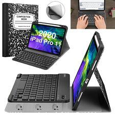 For iPad Pro 11'' 2nd 2020 / iPad Pro 11'' 1st 2018 Case + Bluetooth Keyboard