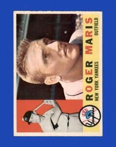 1960 Topps Set Break #377 Roger Maris VG-VGEX *GMCARDS*