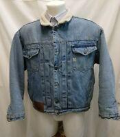 giacca jacket uomo jeans vintage anni 80  americanino  taglia L
