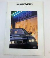 BMW 3-Series Touring E30 1991 91 Dealer Sales Brochure Catalog 318i 325i OEM