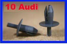 10 AUDI 100 TT VW Jetta Golf push rivet clips plastic fasteners