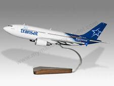 Airbus A310 Air Transat Solid Mahogany Wood Handcrafted Desktop Model