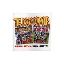 Errol Flynn/Straight By Dogs D'Amour On Audio CD Album 1998 Very Good