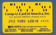 Comp-U-Card Of America Shopping Card Credit Card