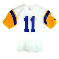 Vintage Rawlings 80's NFL Los Angeles Rams Jim Everett Football Jersey #11 White
