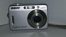 Sony Cyber-shot DSC-S500 6.0 MP Digital Camera - Silver- Sony Camera Bag - Used