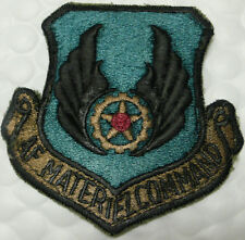 USAF AIR FORCE MATERIEL COMMAND SUBDUED PATCH