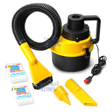 Portable 12V Wet & Dry Vehicle Auto Home Car Vacuum Cleaner  Mini Handheld Dust