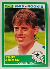 TROY AIKMAN-Score #270 Rookie Football Card-EX Condition-DALLAS COWBOYS
