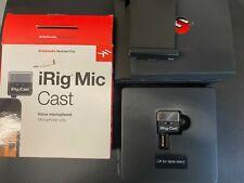IK Multimedia iRig Mic Cast for iPhone/iPad/Android