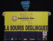 LA SOURIS DEGLINGUEE - KAWTHOOLEI TOUR - Affiche concert 1996 - Poster 119x78cm
