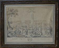DAVID Joseph-Antoine (1725-1789) Marseille deffendue par ses citoyennes en 1524