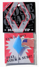 Surfboard NOSE GUARD, Nose Protector, Diamond Tip, Fits Thrusters, Blue, *NEW*