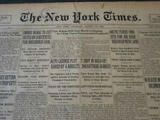 1925 AUGUST 13 NEW YORK TIMES - ARCTIC FLIERS FIND SITE FOR AIR BASE - NT 5431
