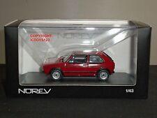 NOREV 840046 VOLKSWAGEN GOLF GTI 1 RED 1976 DIECAST MODEL CAR