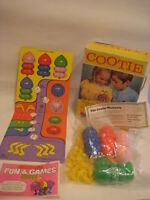 vtg 1973 COOTIE GAME Schaper retro board spider bug ant Original Box & book 1972