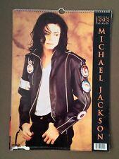MICHAEL JACKSON calendar 1993 by Danilo Printing UK (H.11)