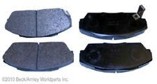 Disc Brake Pad Organic OE Fr Beck/Arnley 089-1322 Fits Integra Civic Prelude X9