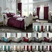Luxury Duvet Cover Sets With PillowCases King Size Double Single Super Bedding