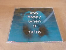 GARBAGE - ONLY HAPPY WHEN IT RAINS 74321 38349 2   !RARE CD COLLECTOR!!!