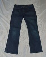 Womens X2 Denim Blue Jeans ~ Sz 8 Short ~ Boot Cut ~ W31 ~ Excellent
