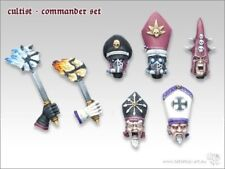 Tabletop Art Kultisten Kommandanten Set (7) Gestalltung Anführer Kultisten Kopf