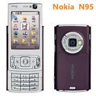 Unlocked Nokia N Series N95 - Deep plum 2.6″ 3G GSM WCDMA Wifi 5MP Smartphone