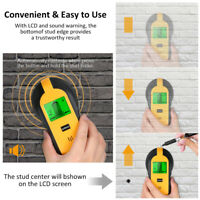 4-in-1 Electronic LED Display Metal Stud Detector Wall Wire Scanner Wood Finder.