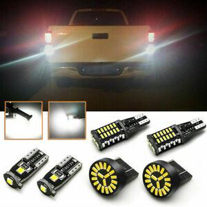 6x Car LED Reverse License Cargo Lights Backup Reverse Bulbs Lamp White Kits