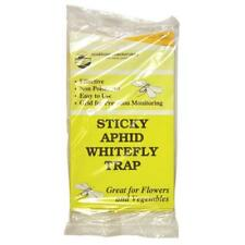 Yellow Sticky Whitefly Trap White Fly Aphid Fruit House Plant Insect 10 25 Or 50