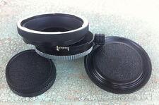 Hartblei Pentacon Six 6 P6 Kiev 60 88CM Lens to Nikon F Shift 360 Camera Adapter