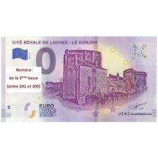Billet souvenir - 37 - Cité Royale de Loches - Le donjon - 2019-2