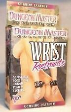 NEW Wrist Cuffs Dungeon Master | BDSM Fantasy Adult Sex Toy, Bondage