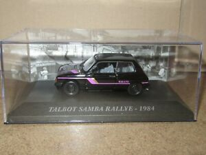 960P IXO 79 Talbot Samba Rally 1984 Black 1:43 New +Box