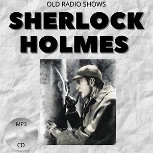 Sherlock Holmes Audio Books Collection MP3 CD's  83 episodes *PREMIUM*
