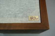 ACOUSTIC RESEARCH AR-3a PAIR OF NEW LOGO PLATES