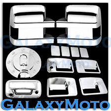 08-10 Ford Super Duty Chrome Mirror+4 Door Handle no KH+Tailgate Camera+Ga Cover
