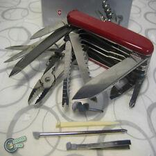 Victorinox Red Swiss Champ Swiss Army Pocket Knife RRP $139.95 Handy Portable