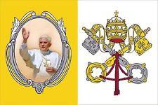 Aufkleber VATIKAN Papst Rom Benedikt XVI Sticker fürs Auto Deko Autoaufkleber