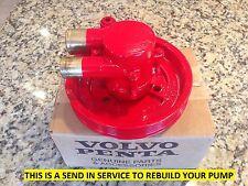 Volvo Penta REBUILD SERVICE Sea Raw Water Pump  3812519 21212799 (READ FIRST)
