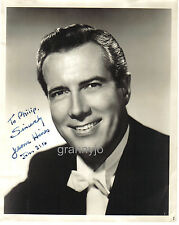 1950's Original Hand Signed, JEROME HINES Autograph Photo, Operatic Singer