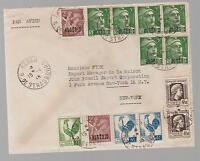 1946 French Algeria Airmail cover to USA