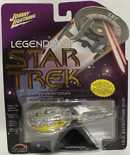 STAR TREK ENTERPRISE : I.S.S. ENTERPRISE NX-01 CARDED MODEL BY JOHNNY LIGHTNING