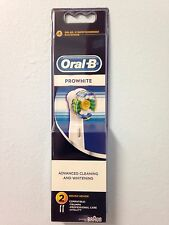 ORAL B BRAUN PROWHITE/PROBRIGHT ELECTRIC TOOTHBRUSH HEADS
